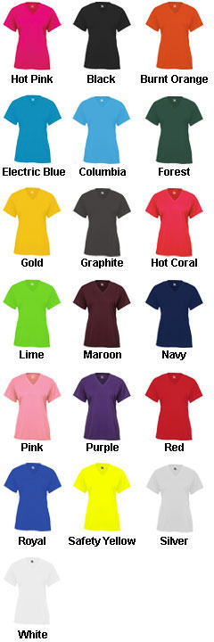 Badger B-Core Youth Shortsleeve V-Neck Tee - All Colors