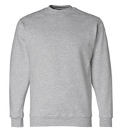 Custom Bayside USA Made Mens Crewneck Sweatshirt