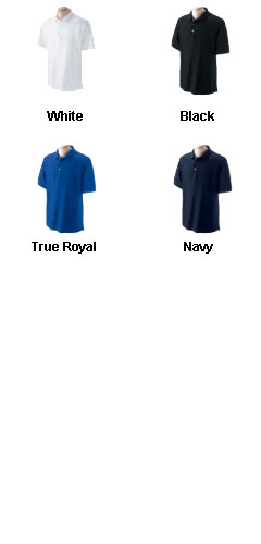 Mens Pima Piqué Short-Sleeve Polo in Tall Sizes - All Colors
