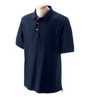 Custom Mens Pima Piqué Short-Sleeve Polo in Tall Sizes