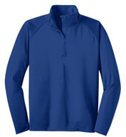Custom Sport-Tek® Tall Sport-Wick® Stretch 1/2-Zip Pullover