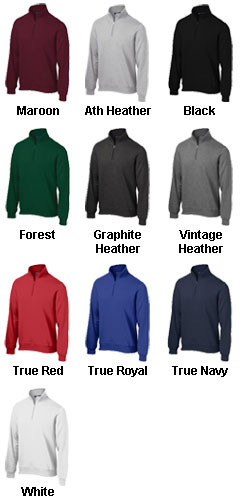 Mens Sport-Tek® 1/4 Zip Sweatshirt - All Colors