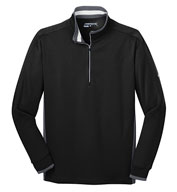 Custom Nike Golf Dri-FIT 1/2 Zip Coverup Mens