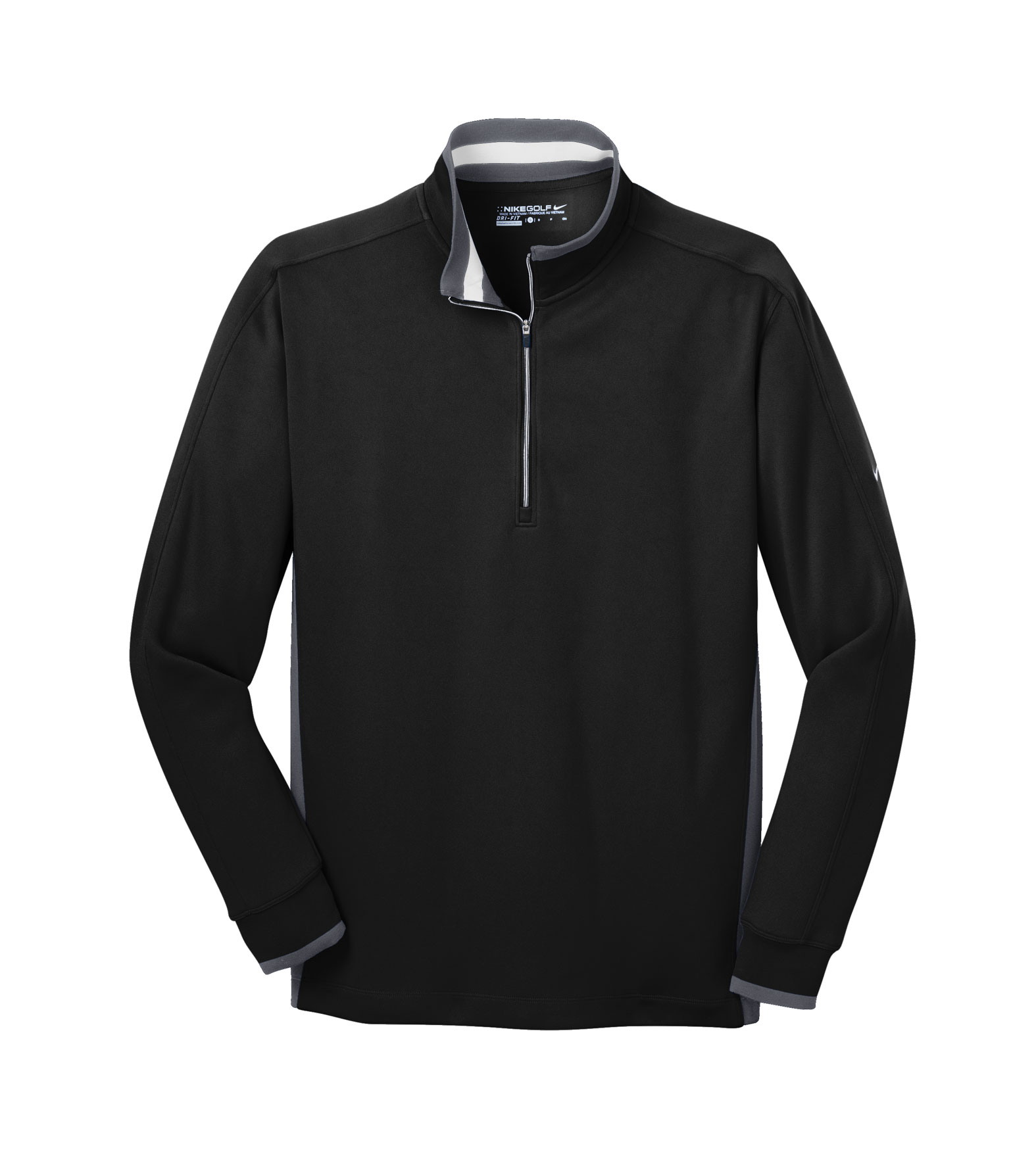 b0b1befca018 Custom Nike Golf Mens Dri-FIT 1 2 Zip Coverup