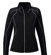 Custom North End Ladies Gravity Performance Fleece Jacket