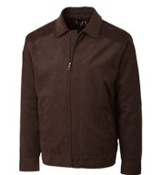 Mens Micro Suede Roosevelt Jacket