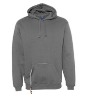 Custom J.America Mens Tailgate Hoodie with Beverage Holder