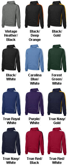 Sport-Tek® - Sleeve Stripe Pullover Hooded Sweatshirt -Tall - All Colors