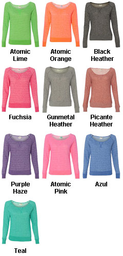 Juniors Off The Shoulder Crew - All Colors