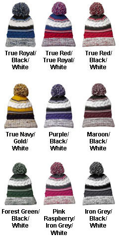 Sport-Tek® Pom Pom Beanie - All Colors