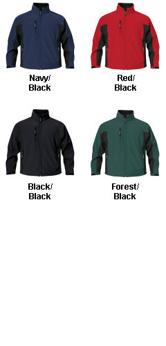Mens Crew Bonded Shell Jacket - All Colors