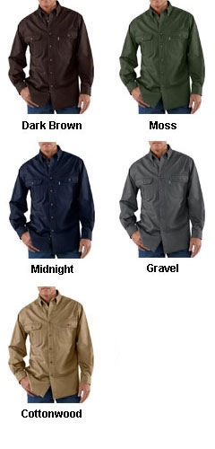 Carhartt Mens Oakman Work Shirt - All Colors
