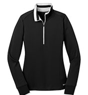Custom Nike Golf Ladies Dri-FIT 1/2 Zip Cover-Up