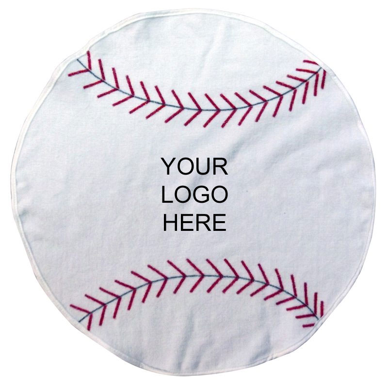 Pro Towels Baseball Shaped Towel