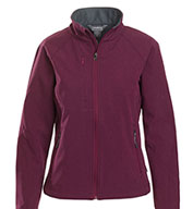 Custom Landway Ladies Matrix Soft-Shell Bonded Jacket