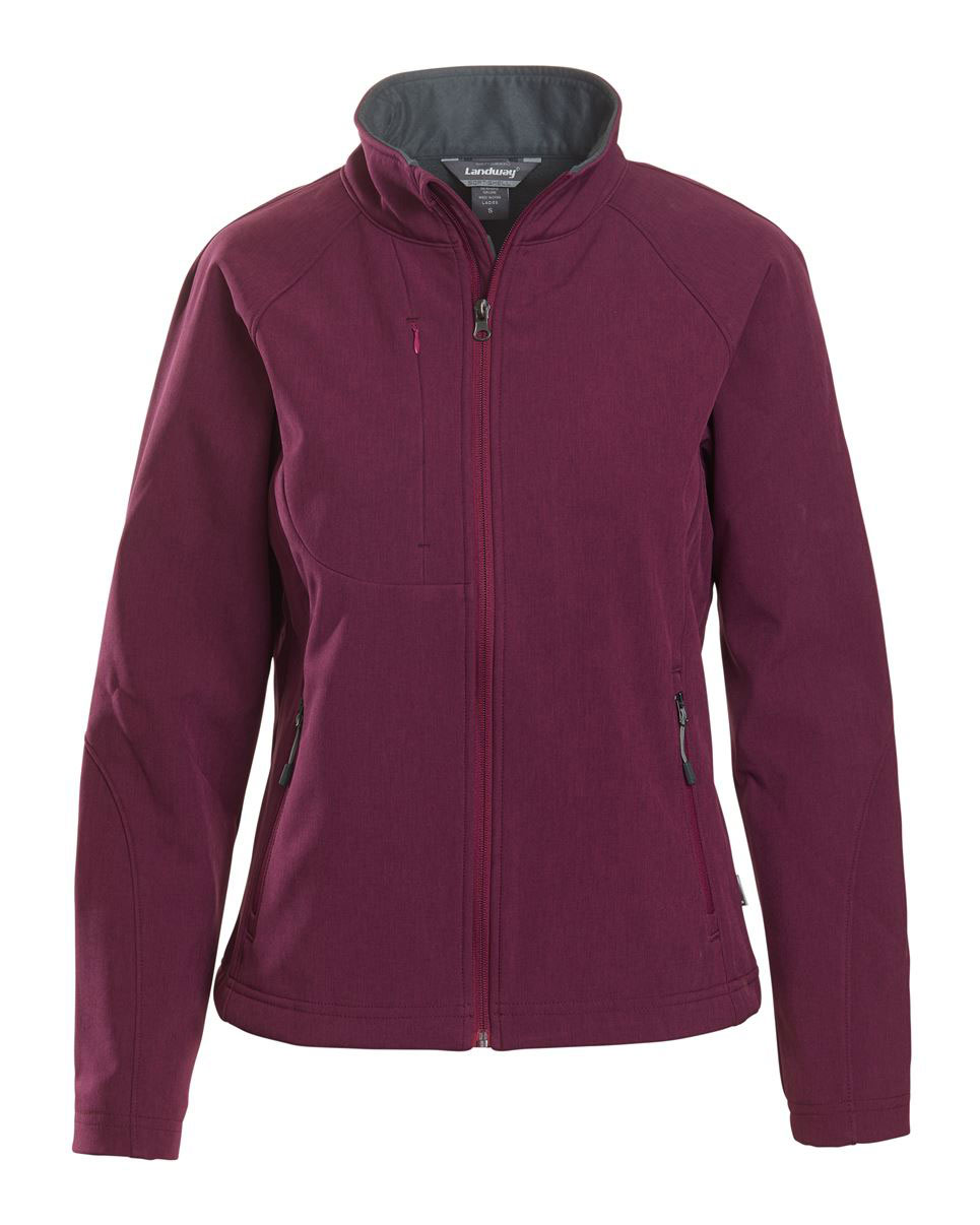 Landway Ladies Matrix Soft-Shell Bonded Jacket