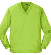 Mens Tall V-Neck Raglan Wind Shirt