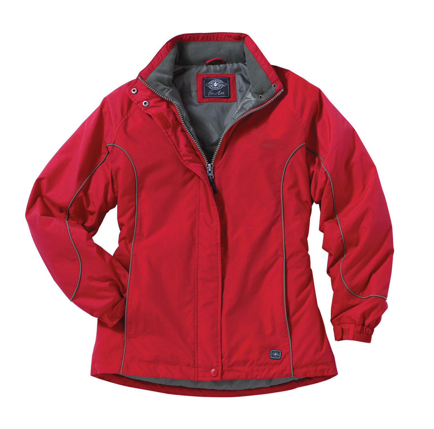 Womens Alpine Parka by Charles River Apparel