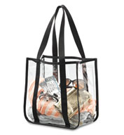 Custom Gemline Clear Event Tote Bag