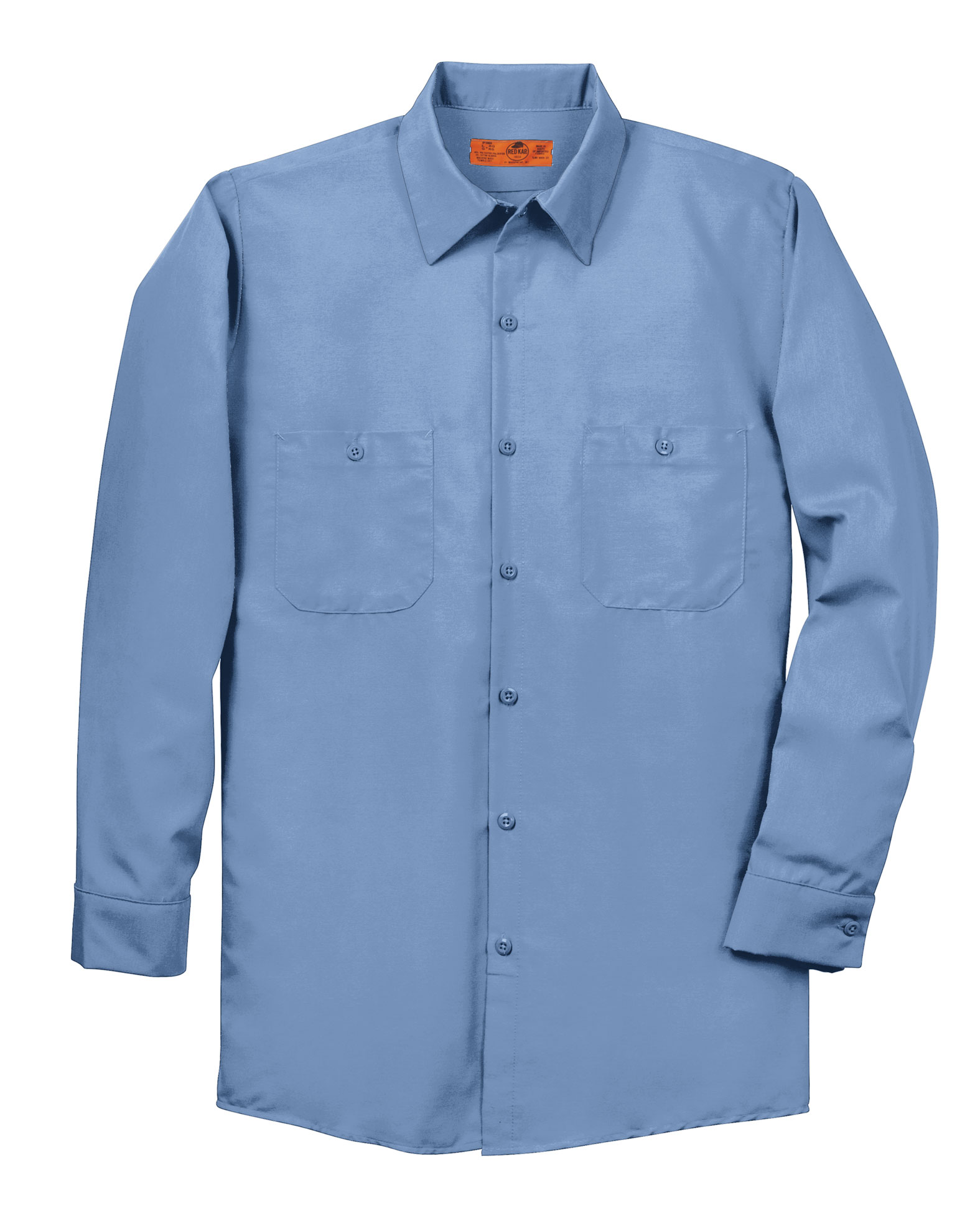 Red Kap Mens Tall Long Sleeve Industrial Work Shirt