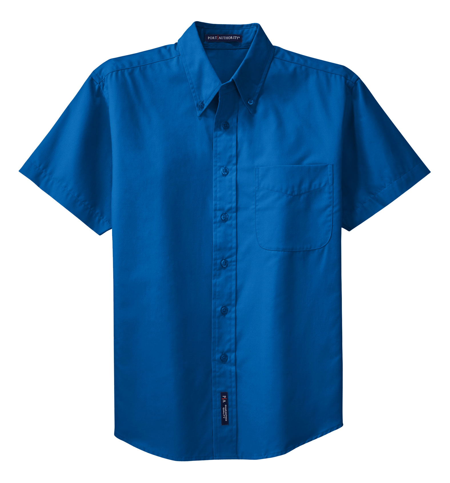 Port Authority® Mens Tall Short Sleeve Easy Care Shirt