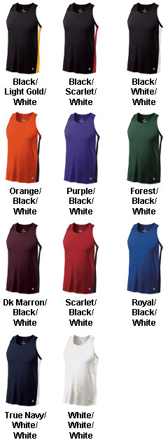Holloway Vertical Adult Singlet  - All Colors