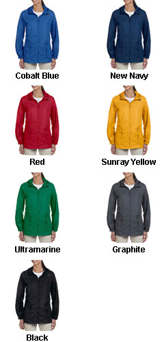 Harriton Ladies Rain Jacket - All Colors