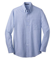 Custom Mens Tall Crosshatch Easy Care Shirt