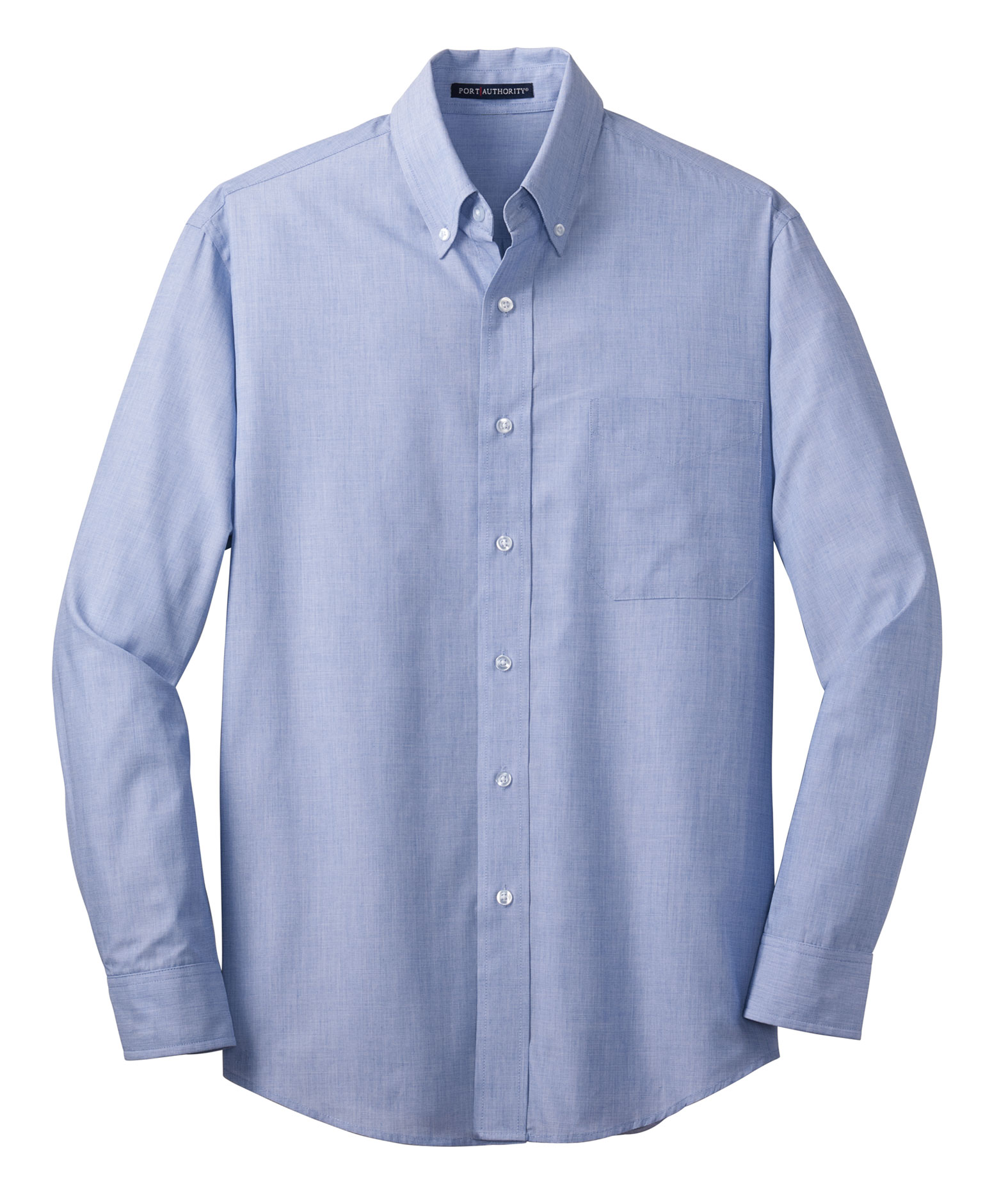 Port Authority® Mens Tall Crosshatch Easy Care Shirt