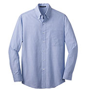 Custom Mens Crosshatch Easy Care Shirt