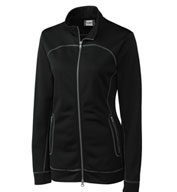 Custom Clique Ladies Helsa Full Zip Poly Fleece
