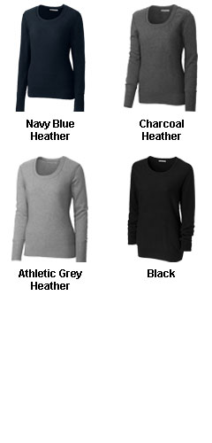 Ladies Broadview Scoop Neck Sweater - All Colors