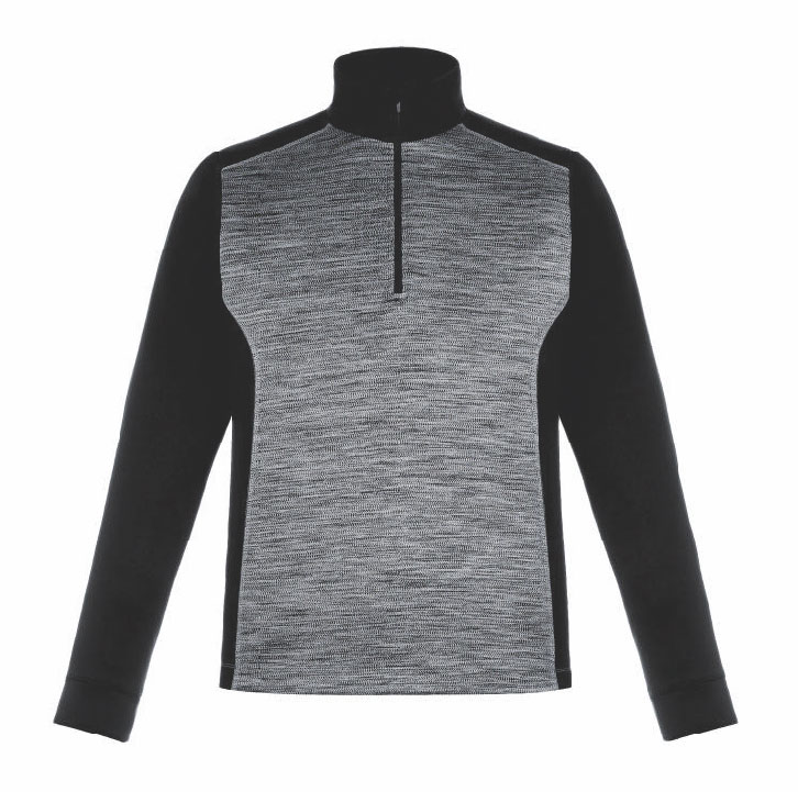 Conquer Mens Performance Quarter-Zip Top by Ash City