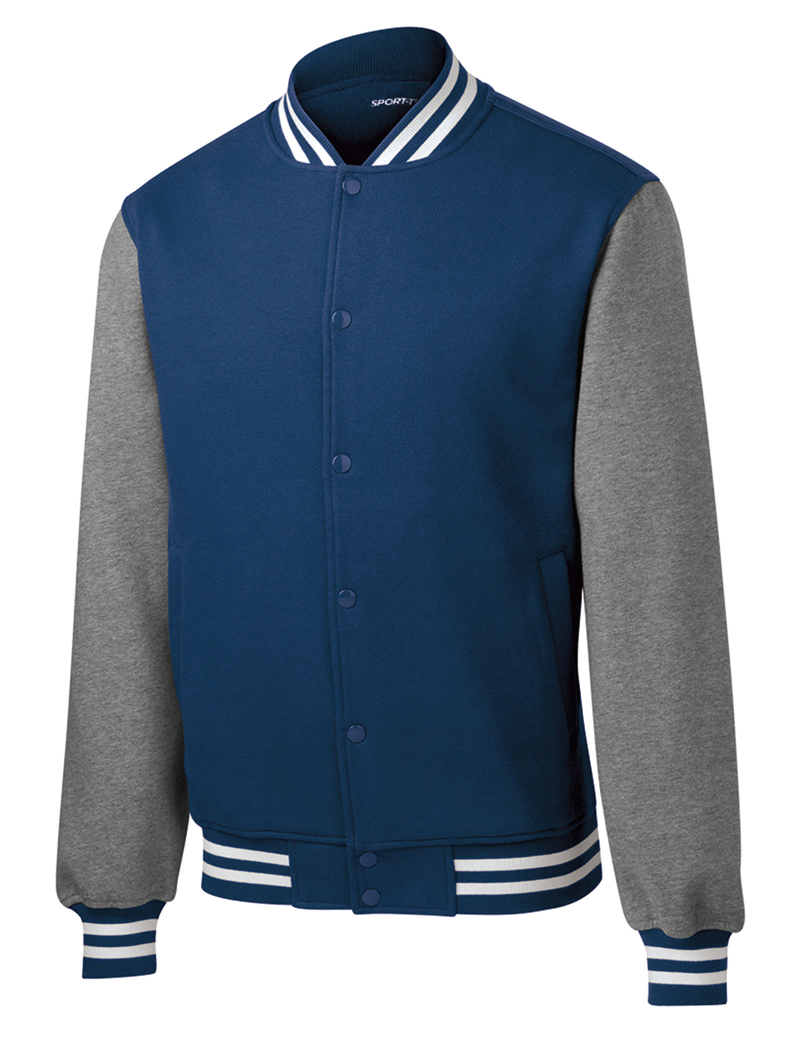 e5a0922a1 Mens Fleece Letterman Jacket