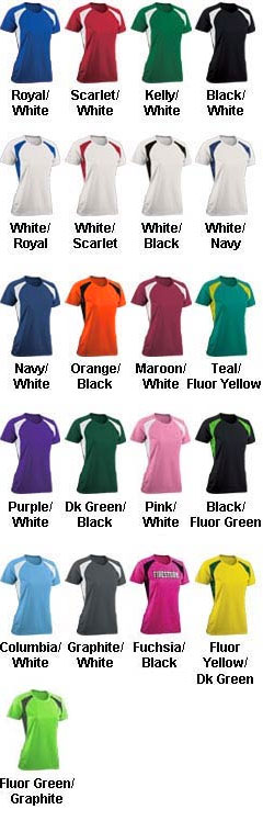 Youth Girls Torrent Tech Tee - All Colors