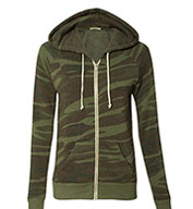 Custom Alternative  Ladies Adrian Eco-Fleece Full-Zip Hoodie