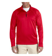 Custom Devon & Jones Mens Stretch Tech-Shell® Compass Quarter-Zip