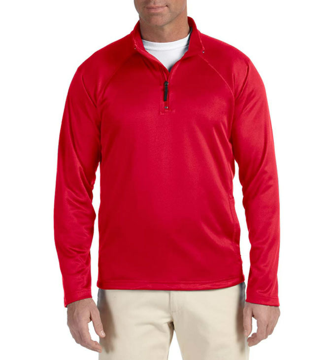 Devon & Jones Mens Stretch Tech-Shell® Compass Quarter-Zip