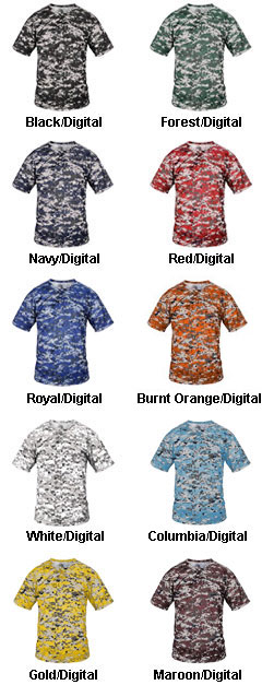 Youth B-Core Digital 2-Button Placket - All Colors