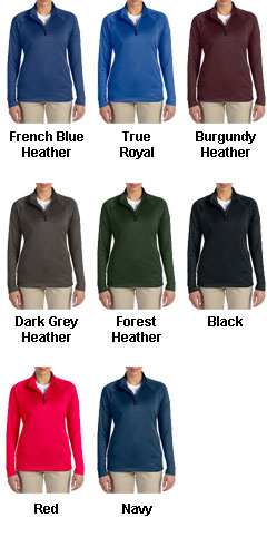 Ladies Stretch Quarter-Zip Tech-Shell® - All Colors