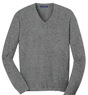 Custom Port Authority® Mens V-Neck Sweater