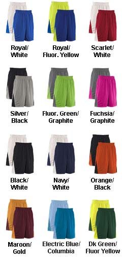 Youth Turnaround Reversible Basketball Short - All Colors