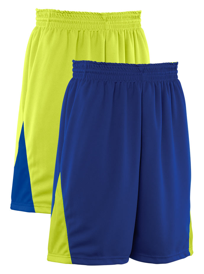 Teamwork Youth Turnaround Reversible Basketball Short - CLOSEOUT