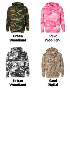 Code V Adult Camouflage Hooded Sweatshirt - All Colors