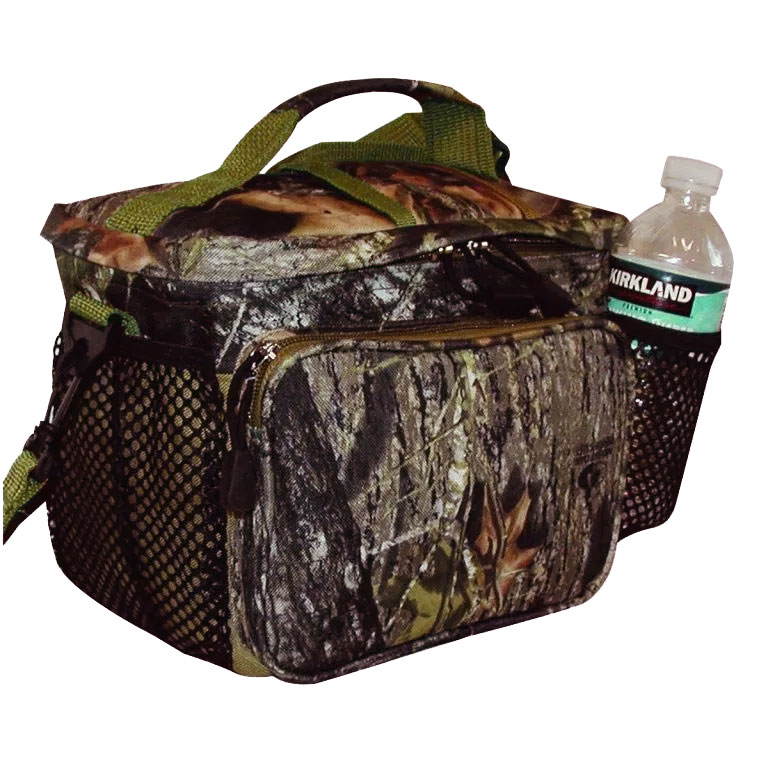 Mossy Oak Top Open Cooler Bag