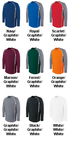 Adult Long Sleeve Evolution Top - All Colors