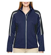 Custom Ladies Strike Color-Blocked Fleece Jacket