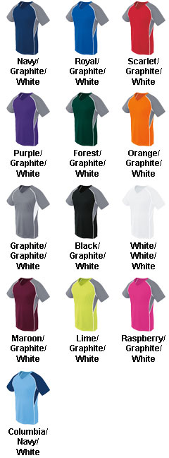 Youth Girls Short Sleeve Evolution Jersey - All Colors