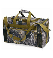 Custom KC Caps Mossy Oak 20 Duffle Bag