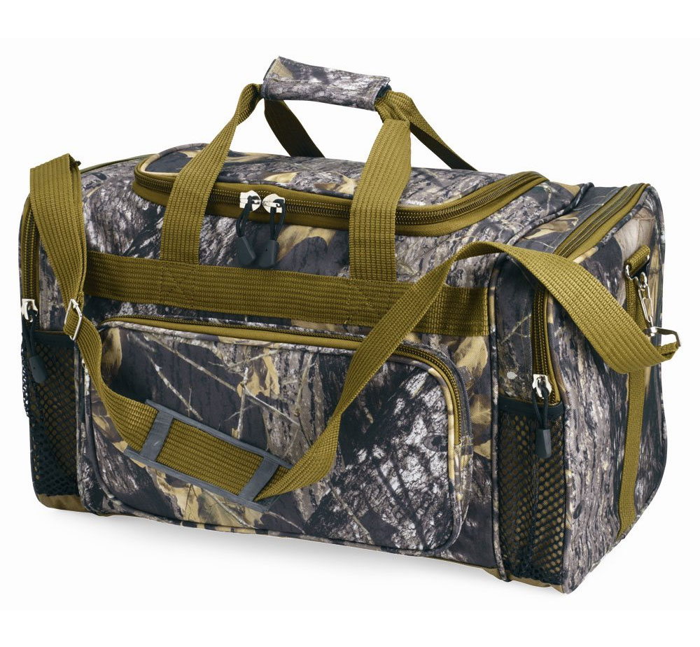 New Breakup Camo Duffle Bag